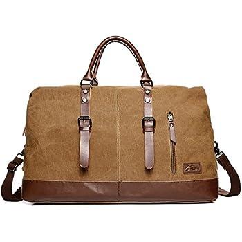 WOMJIA 35L Vintage Voyage sac sac de sport weekender bagage à main de sac de toile en toile Sac en bandoulière ap5wEBpDz