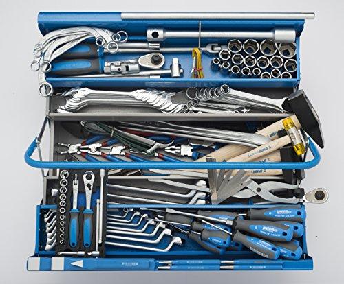 Unior 932 Werkzeug-Sortiment mit Werkzeugkiste 912/5