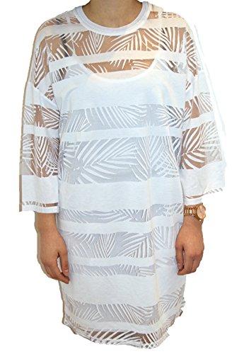 BOSS Orange Kleid Diburn 50331724 Damen, Weiß, M -