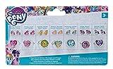 Joy Toy 95082 - My Little Pony 7 Tage Set mit Stickerohrringen und Ringen auf backercard, 17,5 x 2 x 10,5 cm