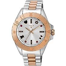 TOUS Reloj de mujer Tous New Motif de acero bicolor