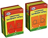 Didax Sandpaper Uppercase Lowercase Letters boxed set of 2
