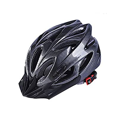 Athyior Bike Helmet Adults - Cycle Helmet 52-61cm Adjustable Headband Lightweight Safety Helmet for Bicycle Skateboard Mountain Road Cycling Men Women Unisex Teens by GuangzhouKEOMOVCo.,Ltd