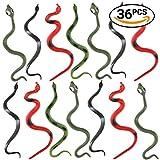 THE TWIDDLERS 36 serpenti finti in 6 diversi modelli. Ideali come regalini, per riempire i sacchetti da festa o per fare scherzi ad Halloween