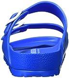 BIRKENSTOCK Unisex-Erwachsene Arizona Eva Pantoletten, Blau (Scuba Blue), 45 EU Test