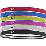Nike Swoosh Sport Headbands 6pk University Red/Game Royal/Volt