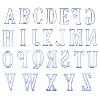 Zantec 5CM Large Big Alphabet Letters Metal Cutting Dies Stencils for DIY Scrapbooking