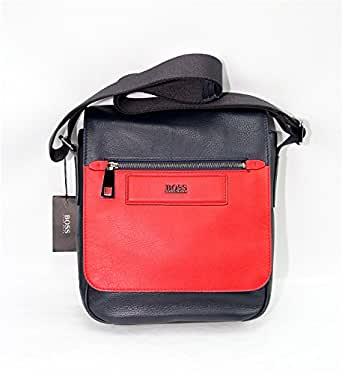 Hugo Boss Myelin Messenger Shoulder Bag Red/Navy