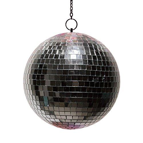 Fizz Creations LED-Spiegel Ball, silber (Spiegel-ball-licht)