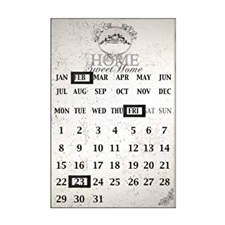 Agenda Magnetic Calendar With Beautiful Home Sweet Home Design & Excellent Look