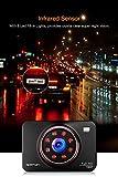 apeman Dashcam Full HD Autokamera 1080P DVR mit 170° Weitwinkelobjektiv, Infrarotfunktion, WDR, Bewegungserkennung, Parkmonitor, Loop-Aufnahme, Nachtsicht und G-Sensor - 3