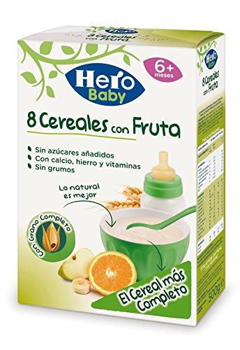 Hero Babynatur 8 Cereales con Fruta - 500 g