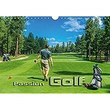 Passion Golf (Wandkalender 2018 DIN A4 quer): Stimmungsvolle Impressionen aus der Welt des Golfsports (Monatskalender, 14 Seiten )