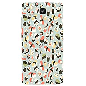 Back cover for Xiaomi Mi4 Sushi Pattern