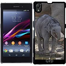 Funda para Sony Xperia Z1 (l39h) - Elefante Bebe by More colors in life