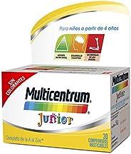 MULTICENTRUM Junior - Complemento Alimenticio con 12 Vitaminas y 4 Minerales, para Niños a partir de 4 Años, c