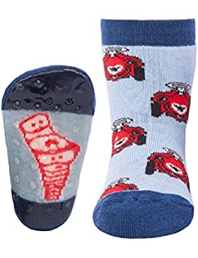 Ewers Baby- und Kindersocken (Mehrere Farben) - (1 Paar) Socken mit Antirutschsohle für Jungen - Strümpfe