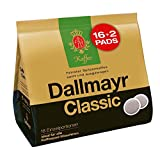 Dallmayr Kaffee Classic Kaffeepads 16 + 2, 5er Pack (5 x 124 g)
