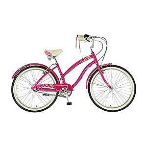 "51tiYSrHYqL. SS300  - Dawes Strawberry Ladies British Cruiser Pink 19"" bike"