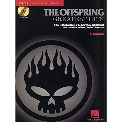 The Offspring: Greatest Hits - Guitar Signature Licks. Partitions, CD pour Tablature Guitare