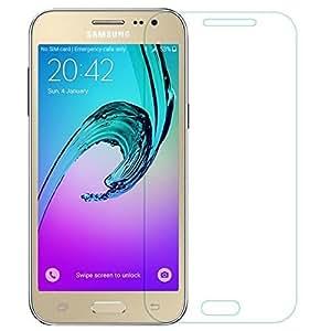 Samsung Galaxy J2 Tempered Glass + Transparent Back Cover
