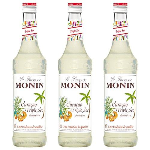 Monin Sirup Curaçao Triple Sec, 0,7L 3er - Sirup Triple Sec