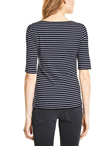 Street One T-Shirt Donna Mehrfarbig (Deep Blue 21238)