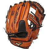 "Mizuno Prospect Baseball Glove, Peanut, Youth/Kids, 11.5"", Worn on left h"