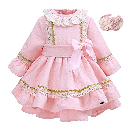 lajinirr-newest-pink-bountique-impreso-autumn-ninas-dress-with-bow-con-diadema-hecha-a-mano-3-anos