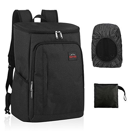OUTXE Kühltasche Rucksack 28L Picknicktasche Lunchtasche für Camping Wandern Picknick