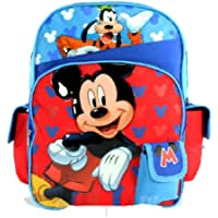 Mickey Mouse & Goofy Clubhouse Backpack | 16in Large School Bag