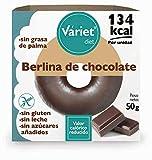 Berlina de CHOCOLATE LIGHT VÁRIET. Sin gluten, sin leche, sin grasa de palma. 50 g