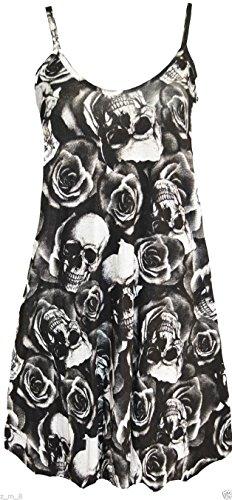 Re Tech UK - Canottiera - Senza maniche  -  donna Skulls And Roses