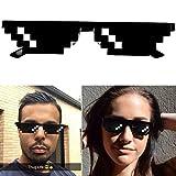 Lunettes Thug Life Pixel idéal pour soirées et déguisements - deal with it - Garantie 2 ans