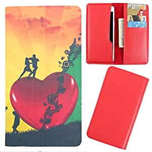 DooDa - For Lava Xolo A500L PU Leather Designer Fashionable Fancy Case Cover Pouch With Card & Cash Slots & Smooth Inner Velvet