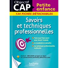 Fiches CAP Petite enfance Savoirs et techniques professionnelles