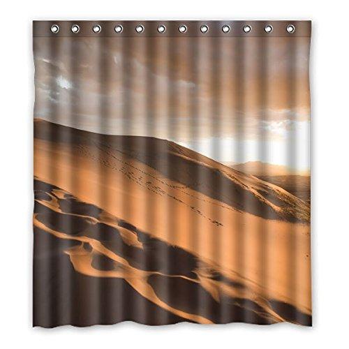 """167 cm x183 cm (66 """"x72"""") tende Bagno Doccia, paesaggi mozzafiato deserto, progettato su misura ad alta definizione impermeabile doccia cortina di odore non irritante"""
