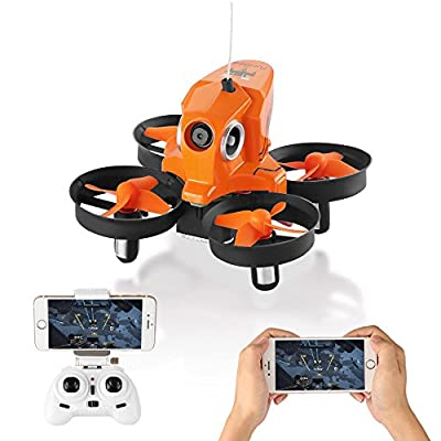 SYMTOP RC Drone Quadcopter H801 2.4GHz 4CH 6 Axis Gyro ORANGE WiFi FPV