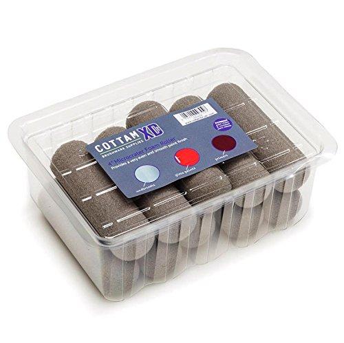 10,2cm Microcrater Schaumstoff Rolle für die Lacke, Glanz, Grundierungen, Primer, Eggshell und Kreide Farben, 10Stück von Cottam