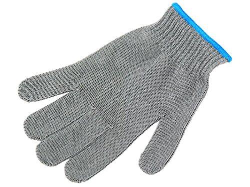 Apaja Filetierhandschuh, Anglerhandschuh, Nylon-Strick-Handschuh EN388 CE, Größe 9, Finnland