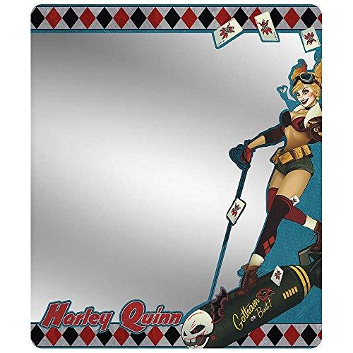 s magnetisch Locker Spiegel Harley Quinn Bombe W/Joker Karten (Der Offizielle Batman Kostüm)