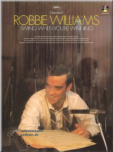 Robbie Williams - Swing When You're Winning - Clarinet - Klarinette Noten [Musiknoten]