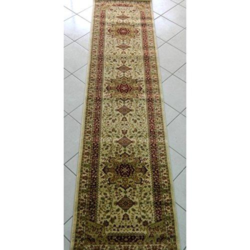 Passatoie tappeti classico obama avorio - 70x290