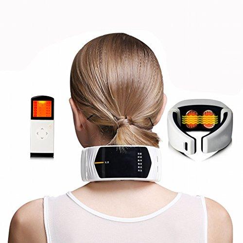 Multifunktionaler Zervikaler Massager Elektrischer Intelligenter Aufladeeinheits-ansatz Meridian Gesundheit Physiotherapie Instrument Massage Schulter,EIN Zurück Hand Held Massagegerät