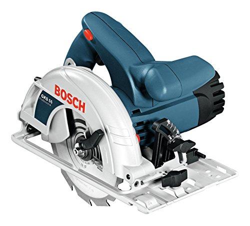 Bosch Professional Handkreissäge GKS 190 (mit 1 Sägeblatt 190 mm, 70 mm Schnitttie...
