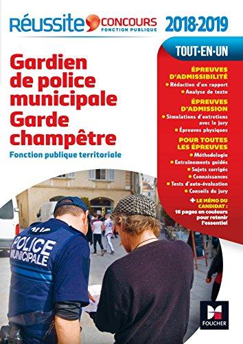 Réussite Concours Gardien de police municipale Garde champêtre N°33
