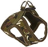 Sourcingmap–Hebilla de liberación camuflaje perro de mascota gato Cachorro Arnés Chaleco, Pequeño, Ejército Verde