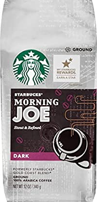 Starbucks Morning Joe Gold Coast Ground Coffee, 12 oz