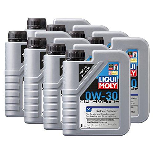 Preisvergleich Produktbild 8x LIQUI MOLY 3768 Special Tec V 0W-30 Motoröl