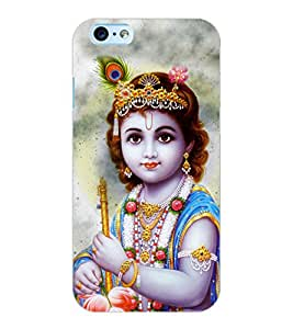 ColourCraft Lord Krishna Design Back Case Cover for APPLE IPHONE 6S